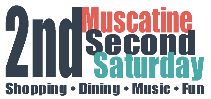 Muscatine Second Saturday logo