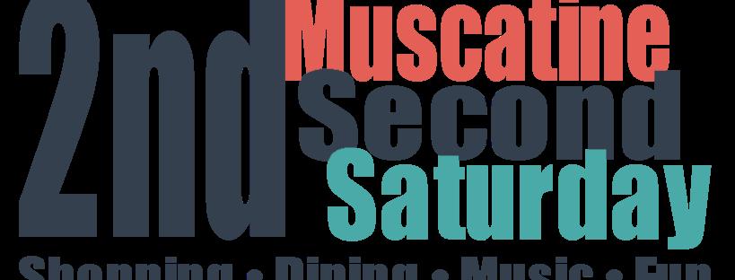 Muscatine Second Saturday logo